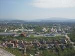 Výhľad na panorámu Mukačeva