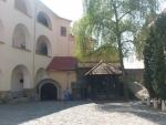 Pohľad na hradné nádvorie