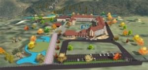Sanatórium Kvitka polonyny-mapa areálu