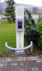 OKKO - nabíjacia stanica elektromobilov; 22kW, 32A