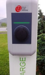 OKKO - nabíjacia stanica elektromobilov
