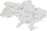 OKKO-Mapa pokrytia siete nabíjacích staníc