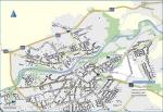 Užhorod - mapa mesta