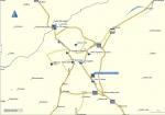 Mukačevo - mapa mesta