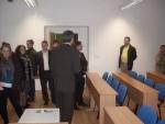 prehliadka priestorov v podnikateľskom inkubátore