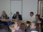 účastníci workshopu počas konferencie V CPK Michalovce