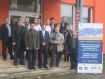 spoločná fotografia slovenských a ukrajinských partnerov projektu