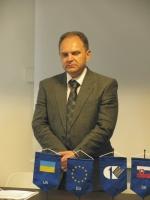 úvodné slovo: p. Juriy  Kolodianskyi - konzul Ukrajiny na Slovensku