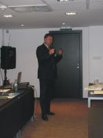 celková prezentácia projektu:  p. Ľuboslav Závacký, hlavným  koordinátor projektu